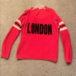 London Sweater (Free w/ any purchase)